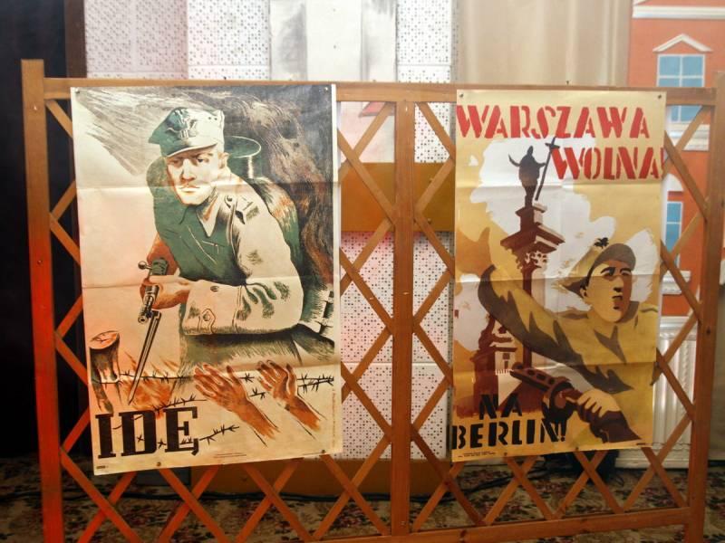 Polski Plakat Propagandowy W Galerii Foyer Oficjalna